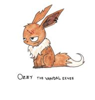Ozzy my eevee by camiurban