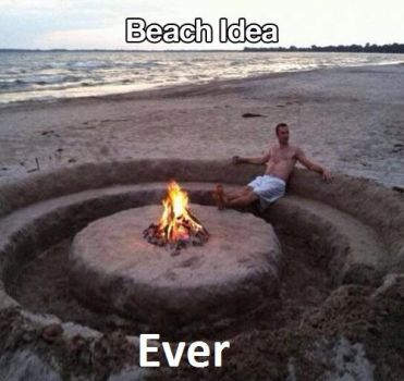 Beach Idea by TheFunnyAmerican