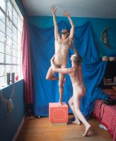 male nude couple stock photo by TheMaleNudeStock
