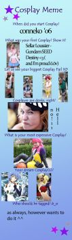 Just Another Cosplay Meme-tag by YumeeTure