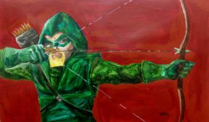 Green Arrow by Ironmanfan4