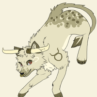 Adoptable Zodiac Wolves: Taurus *CLOSED* by moothequackingcow