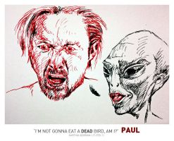 Paul - Uncoloured by karthik82