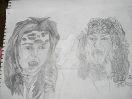 Steel Panther by CountVDragulia