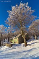 Summer house in winter by ivancoric
