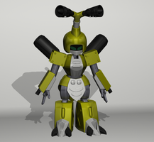Medabots - Metabee by Wets01