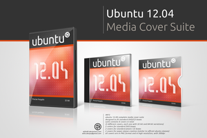 Ubuntu 12.04 Media Cover Suite by elddes
