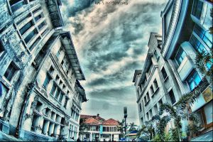 another view of oldtown in HDR by kalimalang12