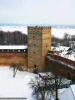 Styr tower in the Lubart castle(Lutsk) by ArthurGautama