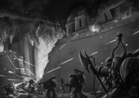 Wh40K: Iron Warriors Assault by StugMeister