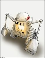 TE113 inspired by WALL-E by Lazychynksta