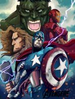 Avengers Assemble by dumbo972