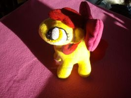 MLP FIM Plush :My second Applebloom by Celestia-In-Love