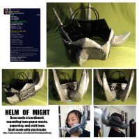 Helm of Might by neener-nina