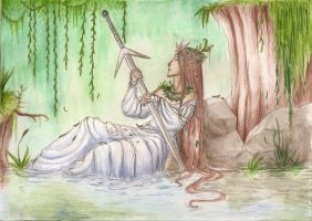 Lady of the Lake by Woodsie-One