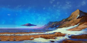 Snow-dune1 by SalvDivin