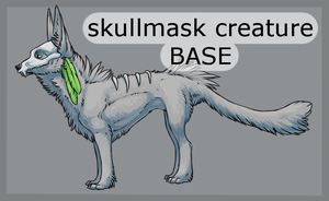 Skullmask Base by LunAdopts