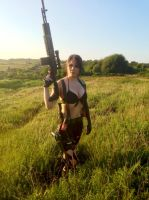 Quiet - The Phantom Pain by IXISerenityIXI