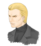 Wesker by SleepyFoxes