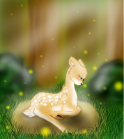 Little Fawn by Mlaraka