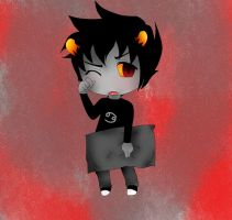 GOOD NIGHT -Karkat Vantas by DoitsuBaka