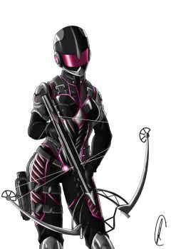 pink ranger by Know-Kname