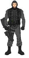 Mobile Infantry Trooper 1 by TopGunSGA