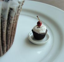 Black Forest Cupcake by fairchildart