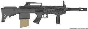 HBAR Assault Rifle by SWAT-Strachan