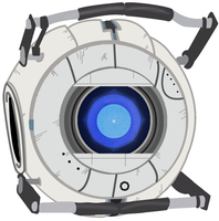 Portal 2 - Wheatley by Dbzbabe