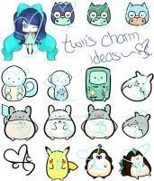 Twiichii - Possible Charms by twiichii