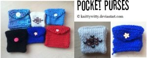 Pocket Purses by knittywitty