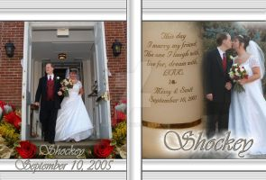 DVD Cover - Shockey Wedding by matrix7