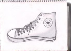 Converse Drawing by XkoolXsoxX
