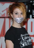Hayley Williams Gagged by ikell