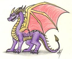 Spyro the Dragon by WyvernFlames