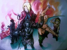 fullmetal group 2 by mugiwaradimby
