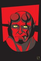 Hell Yeah, Hellboy! by Primogenitor34