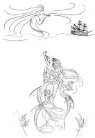 The little Mermaid by S0rce