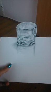 Experiment with glass drawing by MichaillaMorphine