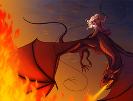asoiaf: mother of dragons by LizCoshizzle