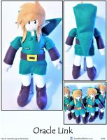 Oracle Link 2014 Plushie by SoandSewPlushies