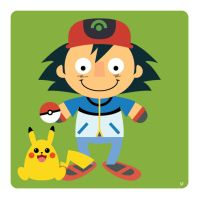 ash ketchum by striffle