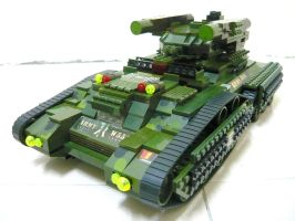 "Lego Transform Tank ""Fake"" 6.1 by SOS101"