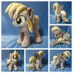 Derpy Hooves Plushie (Open Wing) by equinepalette