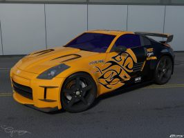 Nissan 350z Tuned by cipriany