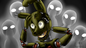 Trapped (Five Nights at Freddy's 3) by ArtyJoyful