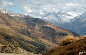 Swiss Alps in autumn III by AleksandraTorbina