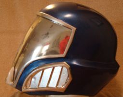 Cobra Commander helmet side view Finished by Hyperballistik