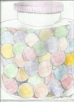 Gumball Jar by TriforceMaster91